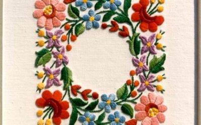 A history of Hungarian Embroidery – Kalocsa