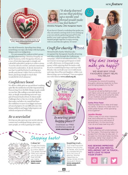Sew Magazine 2017 Jan 41